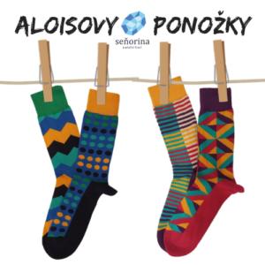 Jarní vzory Aloisových ponožek