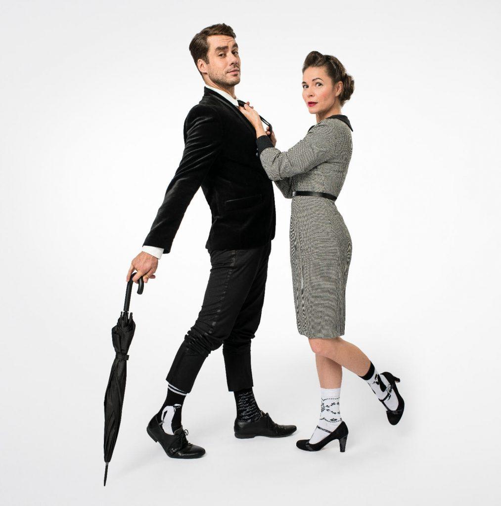 Kateřina Winterová a Patrik Děrgel v Aloisových ponožkách